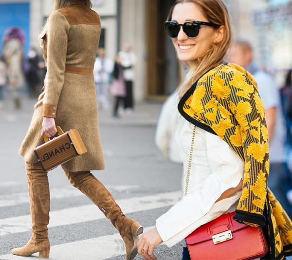 Модные уличные образы весны 2016. Street fashion 2016 (5)