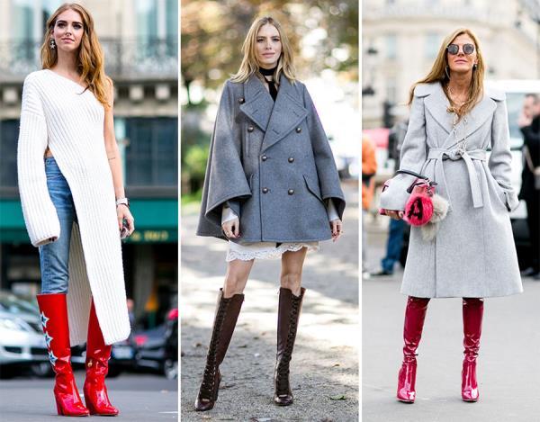 Модные уличные образы весны 2016. Street fashion 2016 (7)