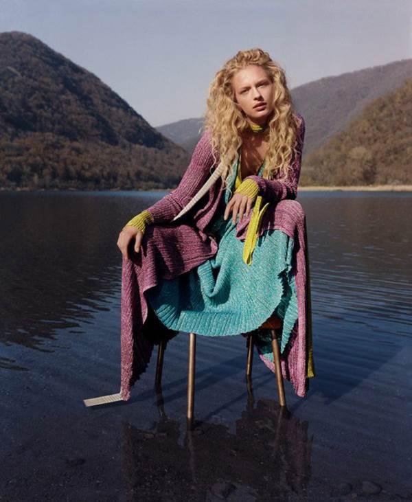 Рекламная кампания женской одежды Missoni