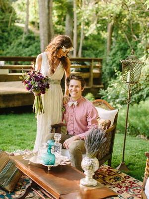 Свадьба в стиле бохо шик (11)