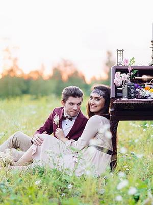 Свадьба в стиле бохо шик (2)