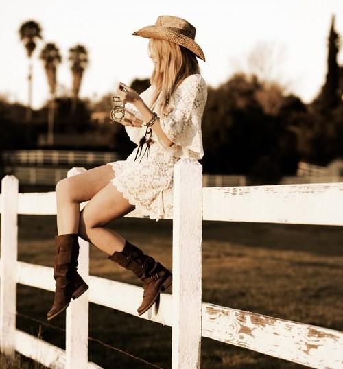 ковбойский стиль в одежде